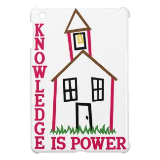 知識は力です iPad MINIケース