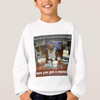 知識犬の双極子時 スウェットシャツ