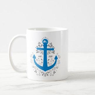 知識、助けおよび希望のいかりのマグ コーヒーマグカップ