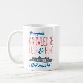 知識、助けおよび希望の船のマグ コーヒーマグカップ