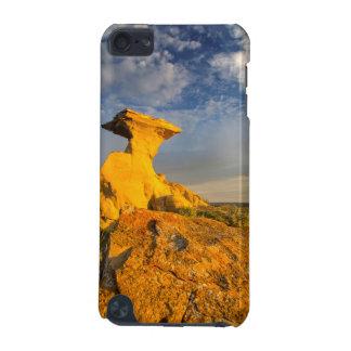 短い草の彫刻が施された荒地の形成 iPod TOUCH 5G ケース