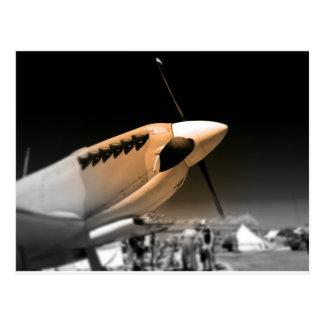 短気者Mk 1Aの航空機 ポストカード