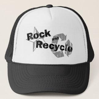 石およびリサイクル キャップ