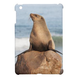 石で休む岬のオットセイ iPad MINIケース