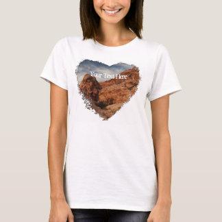 石で切り分けられる; カスタマイズ可能 Tシャツ