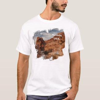 石で切り分けられる; ネバダの記念品 Tシャツ