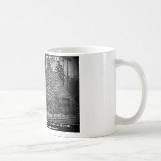 石のねり粉- Presの出生地。 ジェームズ・ブキャナン コーヒーマグカップ