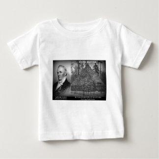 石のねり粉- Presの出生地。 ジェームズ・ブキャナン ベビーTシャツ