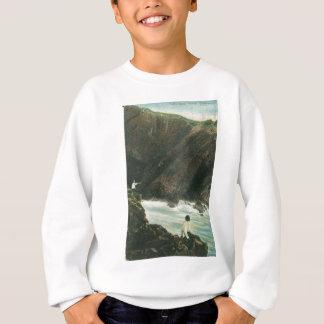 石のイメージ スウェットシャツ
