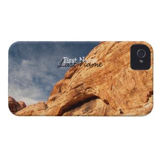 石のコントラスト; カスタマイズ可能 Case-Mate iPhone 4 ケース