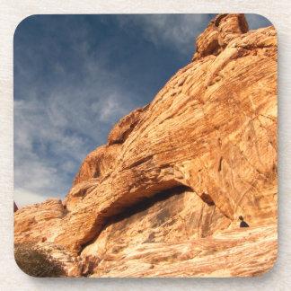 石のコントラスト コースター