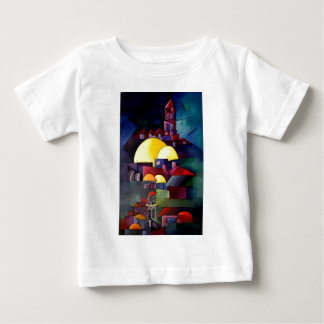 石のタワーのドーム ベビーTシャツ