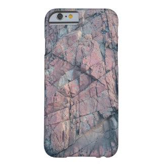 石のデザイナーグラフィックとのIphone6/6Sの場合 Barely There iPhone 6 ケース