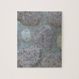 石のハート ジグソーパズル