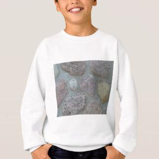 石のハート スウェットシャツ