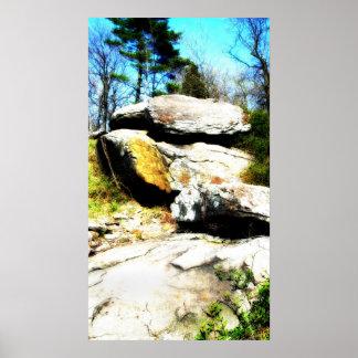 石のミステリー、 ポスター