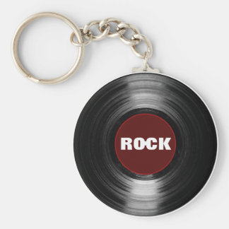 石のレコード キーホルダー