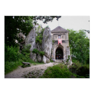 石の中世Strongold ポスター