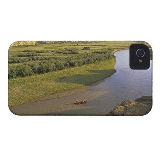 石の執筆のMilk川でカヌーをこぐこと Case-Mate iPhone 4 ケース