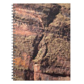 石の壁 ノートブック