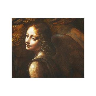 石の天使のキャンバスの覆いのDa Vinciのヴァージン キャンバスプリント