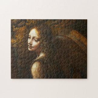 石の天使のパズルのDa Vinciのヴァージン ジグソーパズル