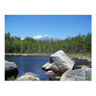 石の山Katahdin ポストカード