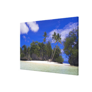 石の島パラオ諸島 キャンバスプリント