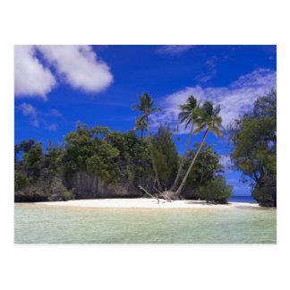 石の島パラオ諸島 ポストカード