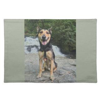 石の微笑犬 ランチョンマット