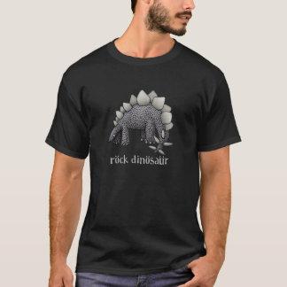 石の恐竜のTシャツ(ステゴサウルス) Tシャツ