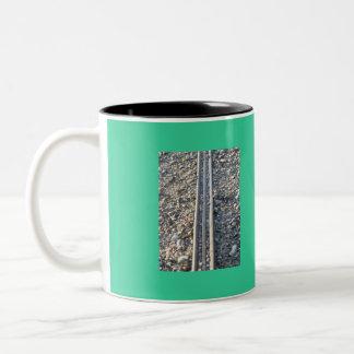 石の方法、マグの芸術 ツートーンマグカップ
