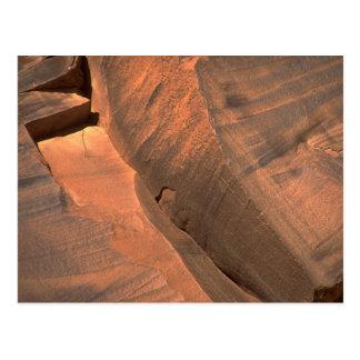 石の構造 ポストカード