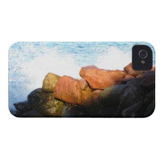 石の波; 文字無し Case-Mate iPhone 4 ケース