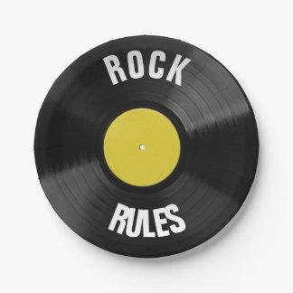 石の規則 ペーパープレート