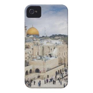 石の訪問者、西部の壁の広場及びドーム Case-Mate iPhone 4 ケース