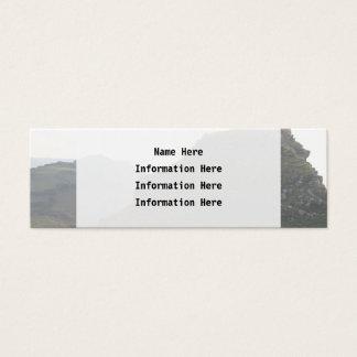 石の谷、デボン スキニー名刺