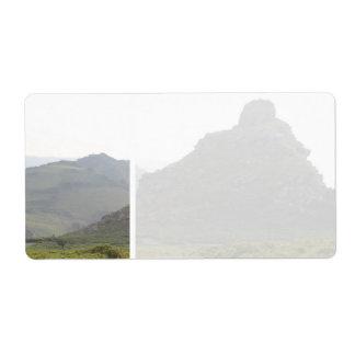 石の谷、デボン ラベル