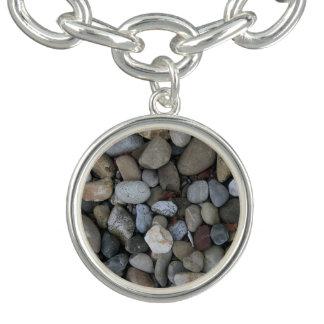 石の質のテンプレート チャームブレスレット