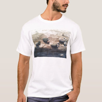 石の足跡 Tシャツ