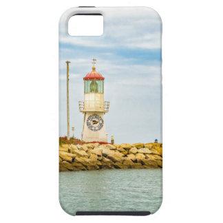 石の防波堤の塩水性沼沢エクアドル iPhone SE/5/5s ケース