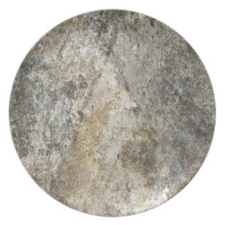 石の顔 プレート