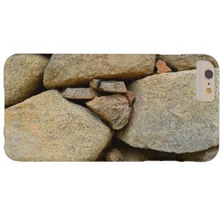 石のAlSamlagiのダムのTaifサウジアラビアの電話箱 Barely There iPhone 6 Plus ケース