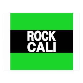 石のCaliの長い緑 ポストカード