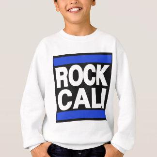石のCaliの青 スウェットシャツ