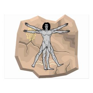 石のDa Vinciの人 ポストカード