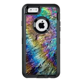 石のiPhone 6のOtterboxのカスタムでまれなミネラル場合 オッターボックスディフェンダーiPhoneケース