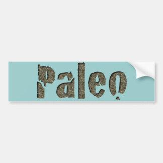 石のPaleo バンパーステッカー