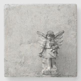石または大理石のコースターの天使 ストーンコースター