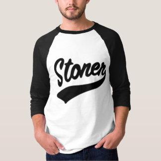 石を投げる人 Tシャツ